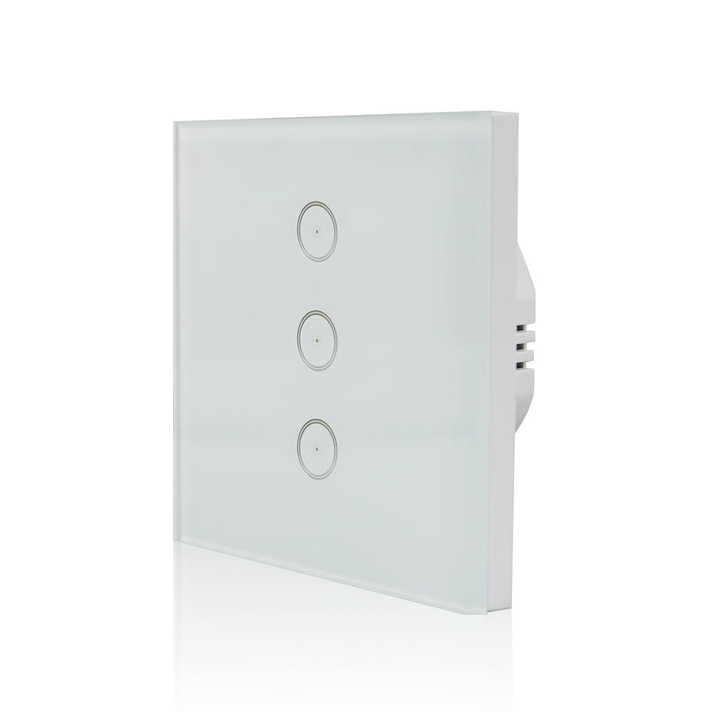 Smart Wifi Light Switches 3 Switch Panel Weight 020kg Pc With Color Box